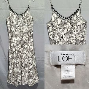 Ann Taylor LOFT Floral Print Dress